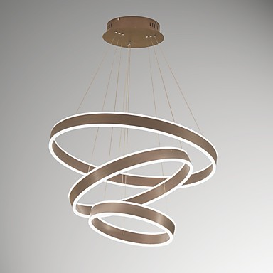 UMEI™ Pendant Light Ambient Light - Dimmable, 220-240V / 100-120V, Warm White / White, LED Light Source Included / 20-30㎡ / LED Integrated
