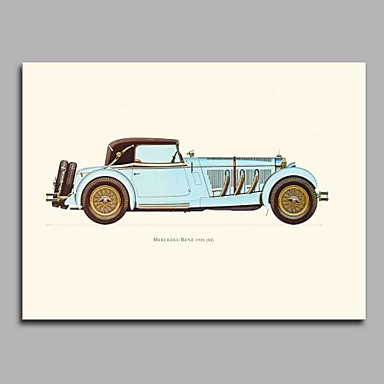 Print Hand Painted - Famous Artistic / Classic Style / Classic Canvas