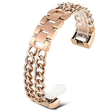 Stainless Steel Watch Band Strap for Rose Gold 20cm / 7.9 Inches 1.8cm / 0.7 Inches