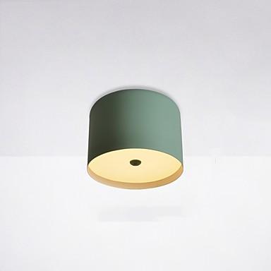 Mini Mennyezeti lámpa Háttérfény Festett felületek Tompítható, A tervezők 220-240 V Távirányítóval szabályozható LED fényforrás / Beépített LED