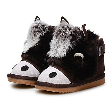 Chica Zapatos Cuero Invierno Confort   Botas de nieve   Zapatos para niña  florista Botas Combinación 372a1617dfa