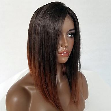 Păr Remy Față Din Dantelă Perucă Tunsoare Bob Stil Păr Brazilian