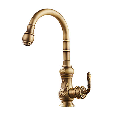 Centerset Widespread Ceramic Valve Antique Bronze, Kitchen faucet