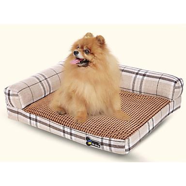 Dog Clothes Bed Solid Colored Beige / Brown / Random Color Cat / Dog