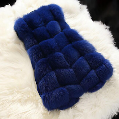 Faux Fur Wedding / Party / Evening Women's Wrap With Buttons Vests