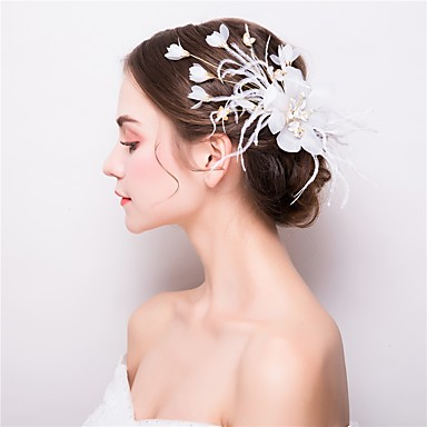 Tulle / Alloy Hair Clip with 1 Wedding / Party / Evening Headpiece