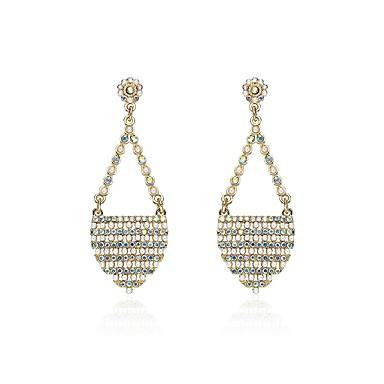 Női Szintetikus gyémánt Gyöngy / Kristály Függők - Klasszikus Szivárvány Geometric Shape Fülbevaló Kompatibilitás Karácsony / Klub
