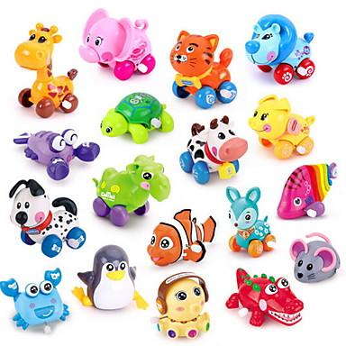 Játékautók / Felhúzós játék / Fejlesztő játék Állatok Műanyagok Darabok Uniszex Gyermek Ajándék