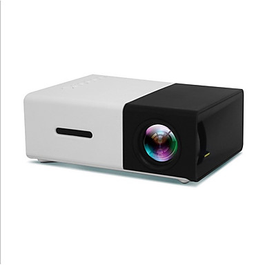 cheap Audio & Video-YG300 LCD Mini Projector LED Projector 400 lm Other Support 1080P (1920x1080) 20-120 inch Screen / QVGA (320x240) / ±15°