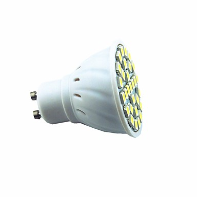 1db 3 W 300 lm GU10 LED szpotlámpák 29 LED gyöngyök SMD 5050 Dekoratív Meleg fehér / Hideg fehér 220 V / 1 db.
