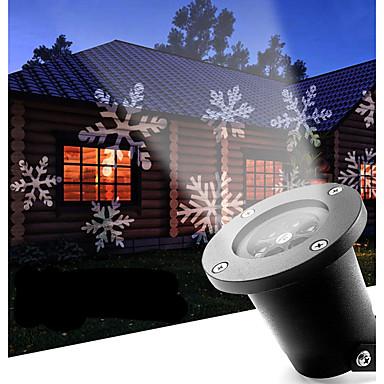 abordables Éclairage Extérieur-12 W Projecteurs LED Décorative Blanc Froid 110-240 V Extérieur / Décorer la scène du mariage / Usage quotidien 4 Perles LED