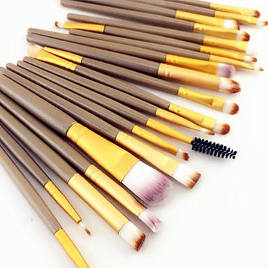 20pcs Makeup Brushes Professional Makeup Brush Set / Blush Brush / Eyeshadow Brush Nylon / Nylon Brush Portable / All-In-1 / Professional