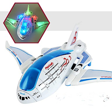 LED Lighting / Flying Gadget / Light Up Toy Plane Plane / Aircraft Lighting / Electric Plastics Kid's Gift 1 pcs