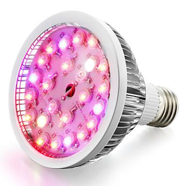 1pç 200-300 lm E26 / E27 Lâmpada crescente 24 Contas LED LED de Alta Potência Branco Quente / Branco Natural / Vermelho 85-265 V / 1 pç