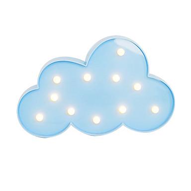 BRELONG 3D Warm White Kids Room Decoration Night Light Light Wedding Decorative Light - Clouds