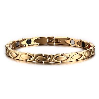 Női Mások Lánc & láncszem karkötők Karperecek - Természet Divat Circle Shape Arany Karkötők Kompatibilitás Ajándék Napi
