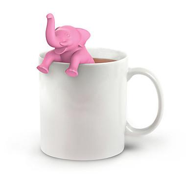 Szilikon Kreatív Konyha Gadget / Tea Elefánt 1db Szűrők / Tea szűrő / Ajándék / Napi