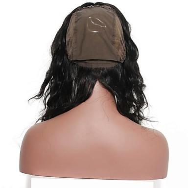 SunnyQueen Klasszikus 360 Frontális Francia csipke Emberi haj Napi
