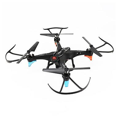 RC Drón FQ777 FQ777-20W 4 Csatorna 6 Tengelyes 2,4 G / WIFI HD kamerával 2.0MP RC quadcopter LED fények / Egygombos Visszaállítás / Headless Mode RC Quadcopter / Távirányító / Fényképezőgép