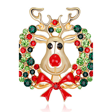 Women's Brooches - Fashion Brooch Assorted Color For Christmas / Gift