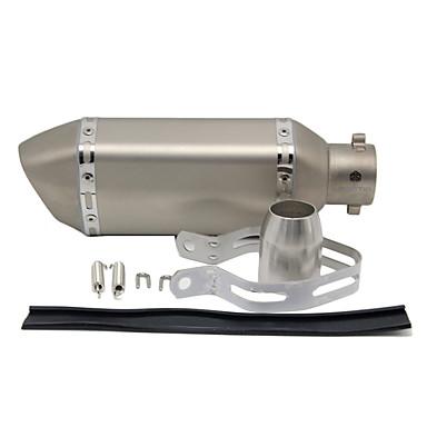 L105*175 51mm Rozsdamentes acél Kipufogódob For Motorkerékpár S-Type