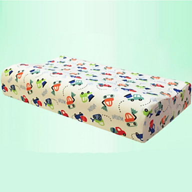 Comfortable-Superior Quality Memory Child Pillow Natural Latex Pillow Bed Pillow 100% Polyester Latex Stretch