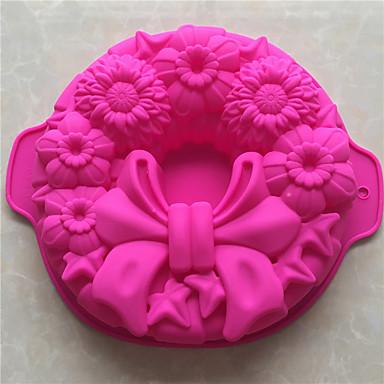 Bakeware eszközök Silica Gel Sütés eszköz / Karácsony / DIY Mert főzőedények / Kenyér / Csokoládé süteményformákba 1db