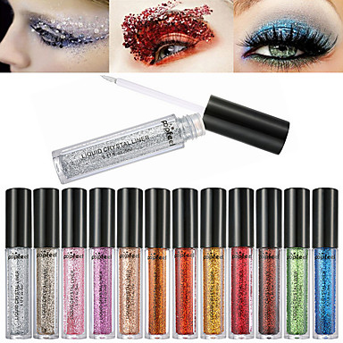 12 Colors Eyeshadow Palette / Liquid Ammonia Free / Formaldehyde Free Multi-function Daily Makeup / Halloween Makeup / Party Makeup Makeup Cosmetic / Shimmer