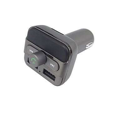 bt20 upgarde bluetooth kihangosító hívás fm adó zenelejátszó támogatás tf / u disk dual usb autós töltő univerzális