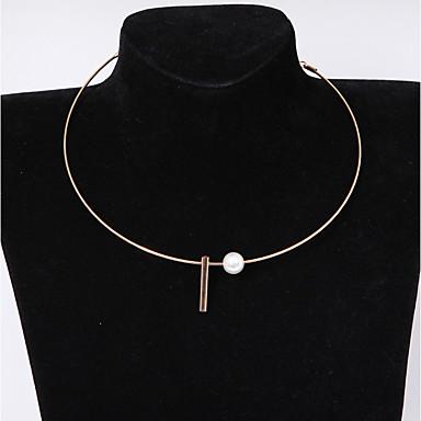 Női Rövid nyakláncok - Divat Arany, Ezüst Nyakláncok Ékszerek Kompatibilitás Napi, Hétköznapi