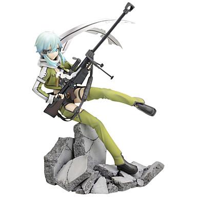 Anime Action Figurer Inspirert av Sword Art Online Shino / Cosplay PVC 22.5 cm CM Modell Leker Dukke