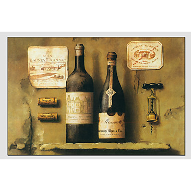 Oil Painting Hand Painted - Still Life Classic Canvas