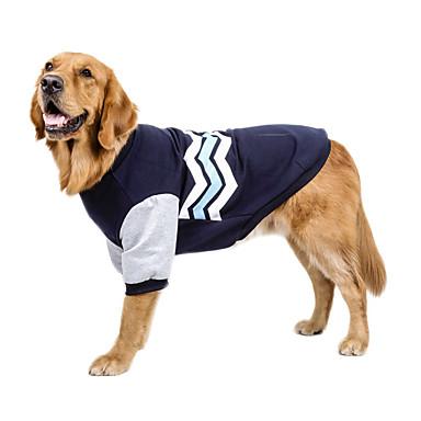9c9a87721b94 Χαμηλού Κόστους Ρούχα για σκύλους-Σκύλος Πουλόβερ Ρούχα για σκύλους  Συνδυασμός Χρωμάτων Κόκκινο Πράσινο Μπλε