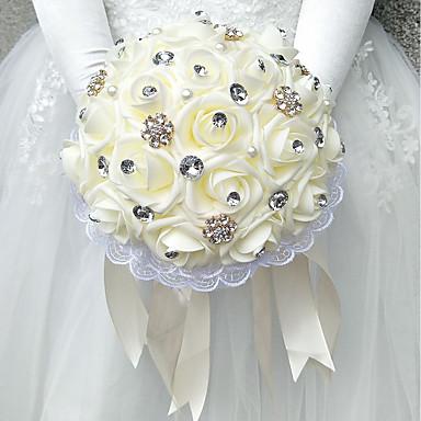 Esküvői virágok Csokrok Esküvő Poliészter / Hab 9,84
