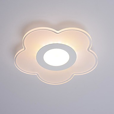 Flush Mount Ambient Light - Eye Protection, 220V Bulb Included / 5-10㎡ / LED Integrated