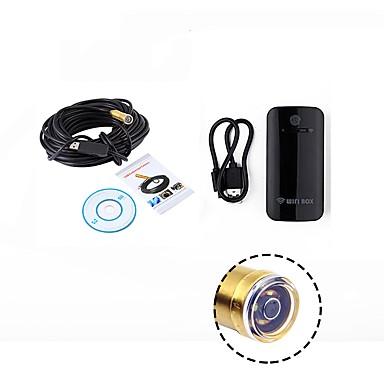 wifi endoszkóp 14.5mm objektív 15m kábel vízálló ip67 android usb kamera kígyó ellenőrzés boreszkóp ios pc vezeték nélküli cam