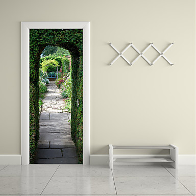 Famous Landscape 3D Wall Stickers Plane Wall Stickers 3D Wall Stickers 3D, Paper Home Decoration Wall Decal Wall