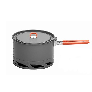 Camping Pot Single Stainless Steel / Hard Alumina Outdoor for Camping / Hiking / Picnic