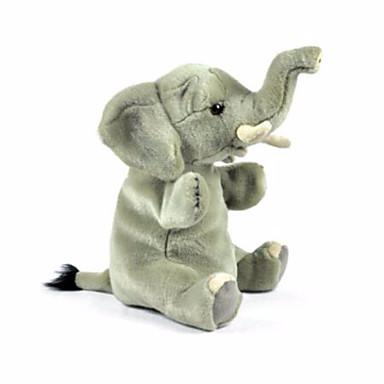 voordelige Marionetten-Vingerpoppetjes Poppen Handpop Olifant Dier Schattig Pluche Kinderen Volwassenen Speeltjes Geschenk