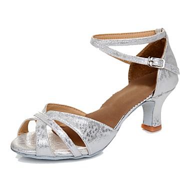 3d67ded351 cheap Dance Shoes-Women's Latin Shoes Synthetic Heel Customized Heel  Customizable