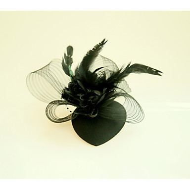 Feather Net Fascinators Flowers 1 Wedding Special Occasion Headpiece
