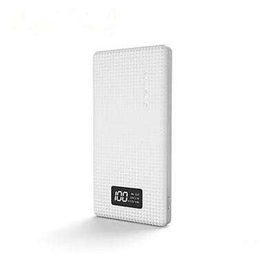 billige Eksterne batterier-10000 mAh Til Power Bank Eksternt batteri 5 V Til Til Batterilader Flere utganger LED
