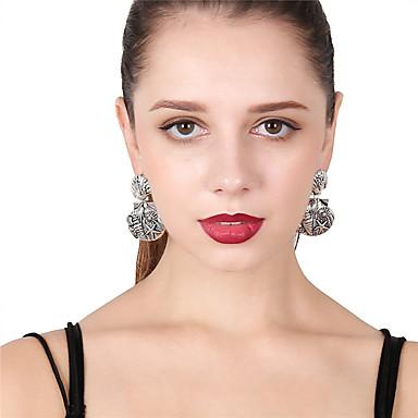 Women's Stud Earrings / Front Back Earrings / Ear Jacket - Shell Gold / Silver For Party / Festival