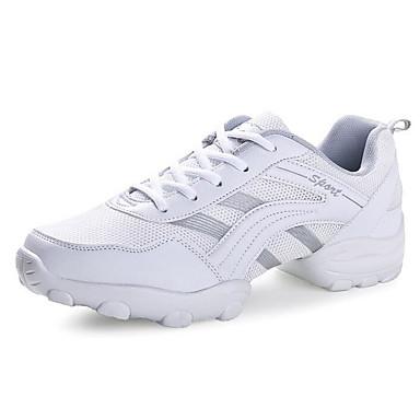 Férfi Tánccipők Tüll Magassarkúk Talp Dance Shoes Fehér / Fekete és ezüst / Fekete / Narancssárga / Gyakorlat