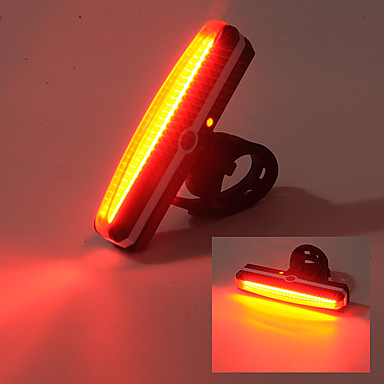 Bisiklet Arka Işığı LED - Bisiklet USB / Darbeye Dayanıklı / Su Geçirmez Diğer 100lm Lümen USB