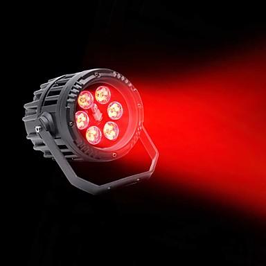 U'King Oświetlenie LED sceniczne Żarówki LED Par DMX 512 Master-Slave Aktywowana Dźwiękiem Auto na Klub Ślub Scena Impreza Obuwie