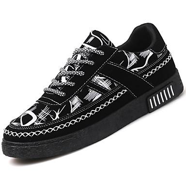 Męskie Komfortowe buty Syntetyczny Jesień / Zima Adidasy Biały / Czerwony / Niebieski