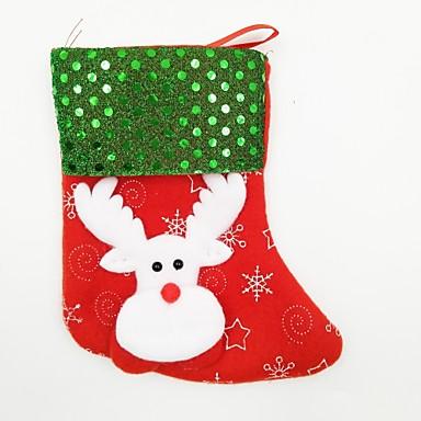 Dekoracje bożonarodzeniowe Artykuły na przyjęcie bożonarodzeniowe Zabawki Święta Kostiumy Św. Mikołaja Elk Bałwan Święto Święto 4 Sztuk
