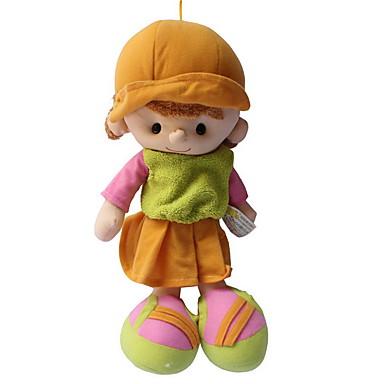 Dziewczyna Lalki Pluszowa lalka 14 in Miękka Bezpieczne dla dziecka Nietoksyczne Dzieciak Dla dziewczynek Zabawki Prezent / Słodkie