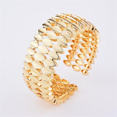 Damskie Bransoletki cuff - Na co dzień Modny Geometric Shape Gold Bransoletki Na Codzienny Wyjściowe